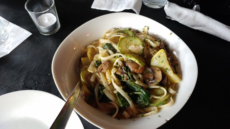 The Pasta Primavera that Chris ordered