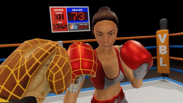Virtual Boxing League - Woman Beater