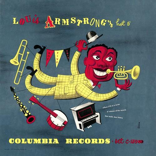 Jim Flora Louis Armstrong