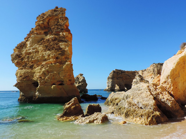 Marinha Beach, Algarve, Portugal