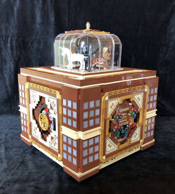 Harry Potter Magical Creatures Music Puzzle Box