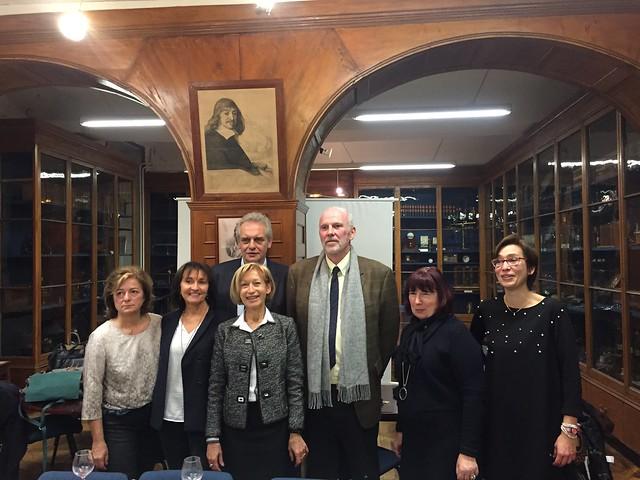 Accueil de la délégation de Saxe
