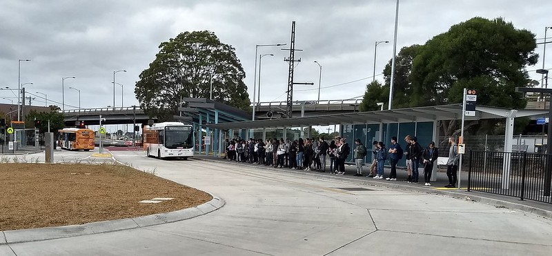 Huntingdale Bus interchange