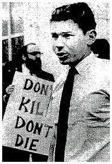 Tieger publicly refuses draft in D.C. – 1967