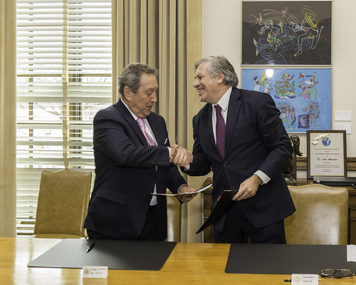 SICA y OEA inician proyectos conjuntos para el desarrollo de Centroamérica