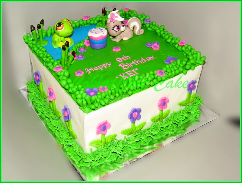 Cake My Littlest Petshop KEI 22 cm