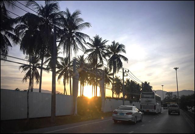Sunset 25 February 2018