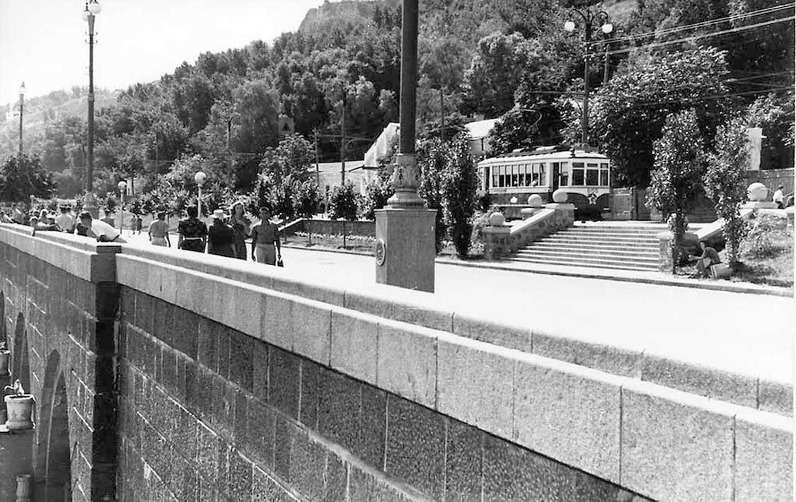 Набережная Днепра, 1950-е годы