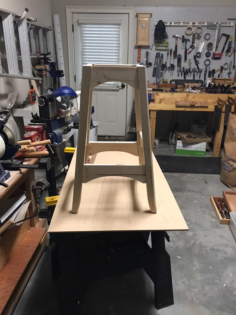 Stool front