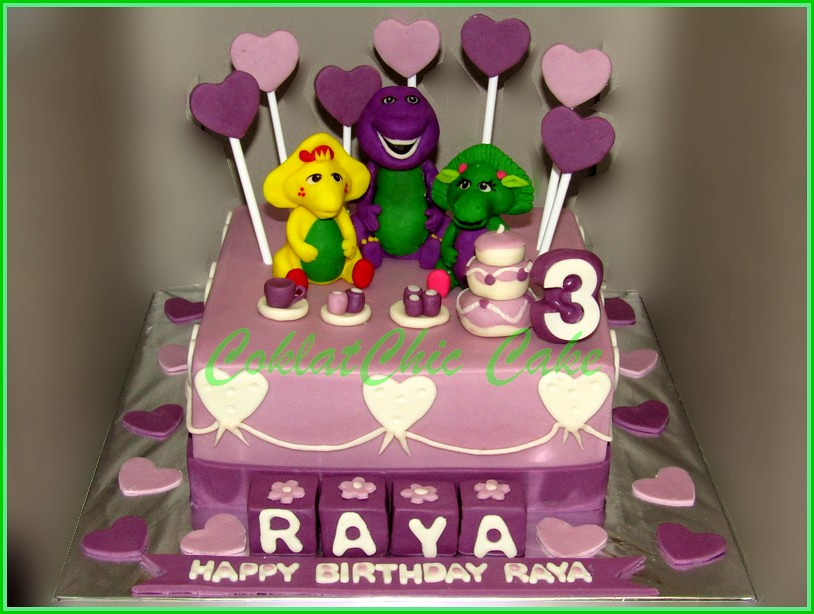 Cake Barney RAYA 15 cm