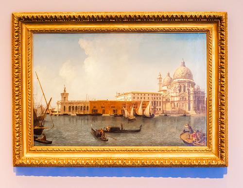 View of the Dogana and S. Maria della Salute, Venice