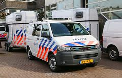 Dutch police Volkswagen Transporter