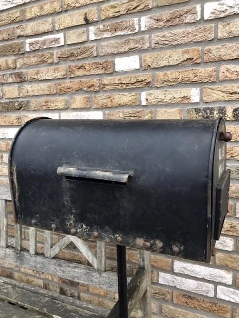 Postbus landelijke stijl