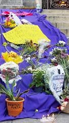 Marielle 180315 004 Cinelândia escadaria Câmara Municipal vela espada de são jorge o estado mata