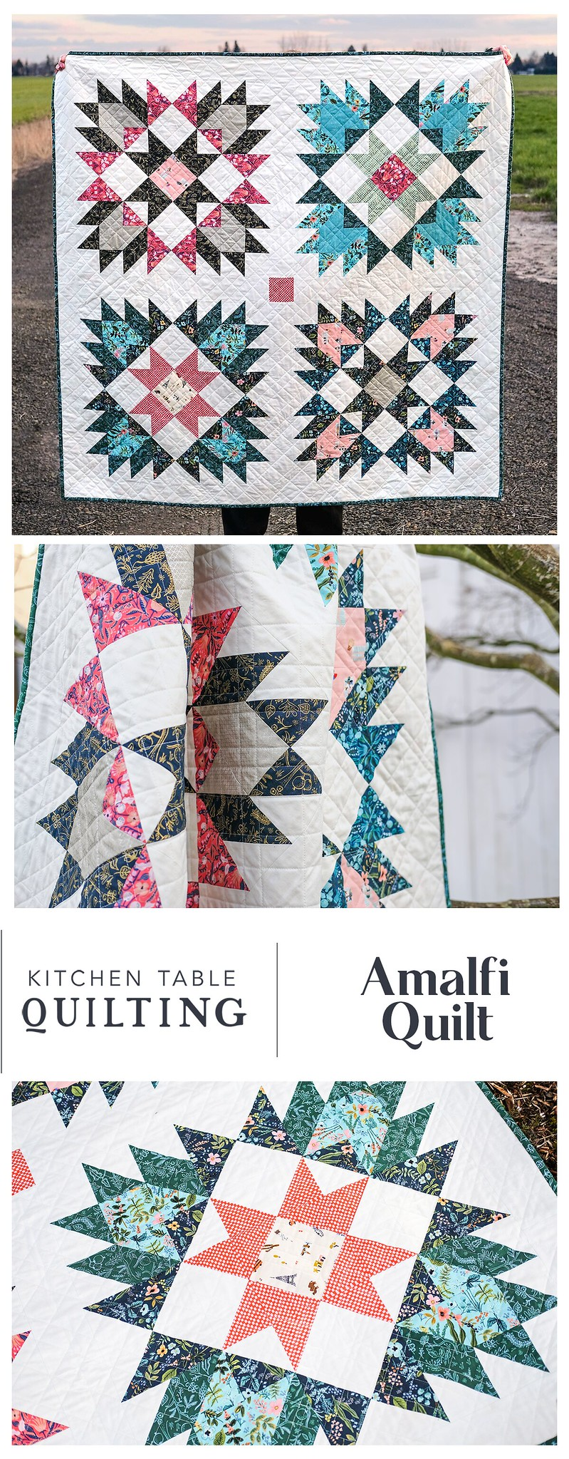 Amalfi Quilt - Kitchen Table Quilting