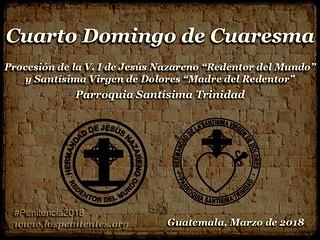 Cuarto Domingo de Cuaresma, Santisima Trinidad