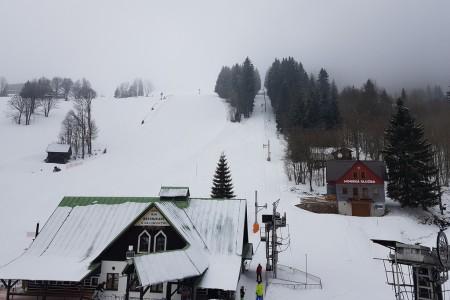 Aktuálně: první jarní lyžování