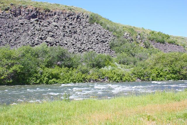 Blackfoot River: Morgan's Bridge Campground