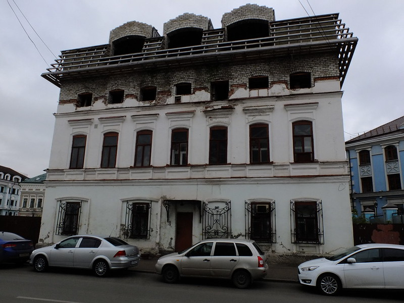 Kazan is the capital of porcelain stoneware Kazan, Kazan, buildings, built, porcelain, received, city, center, architect, Kazanka, everything, very, pedestrian, new, neighborhoods, will, basketball, neighborhoods, this, street