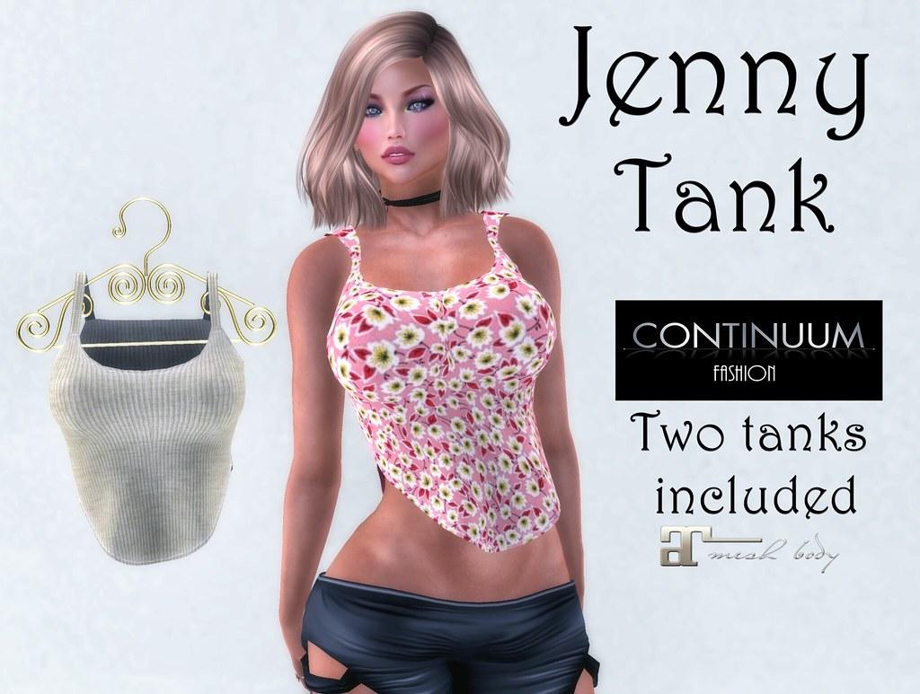 Continuum Jenny tank GIFT - TeleportHub.com Live!