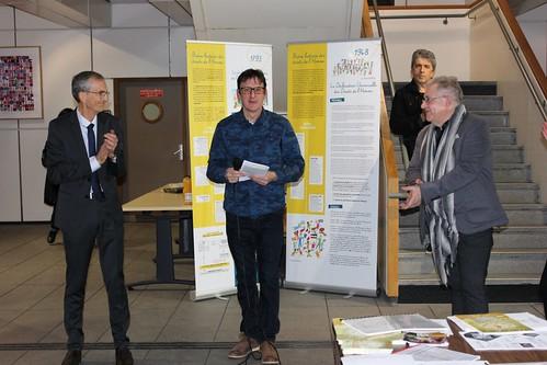 Vernissage exposition les droits de l'homme 05 03 2018