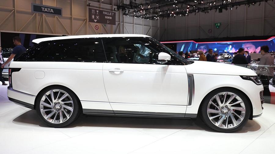 Range Rover SVR Coupe n