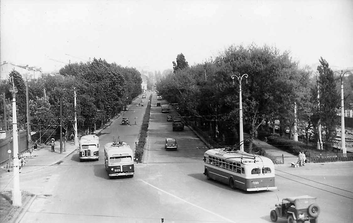 Бульвар Тараса Шевченко, 1959 год