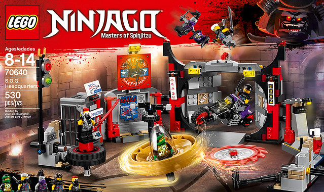 REVIEW LEGO Ninjago 2018 Spinjitzu Masters