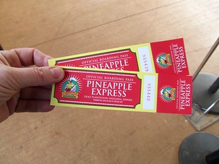 Tickets fo the Pineapple Express