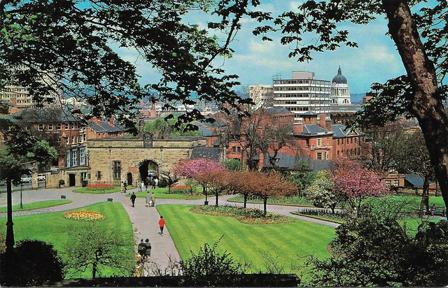 View from Castle Terrace 1960s