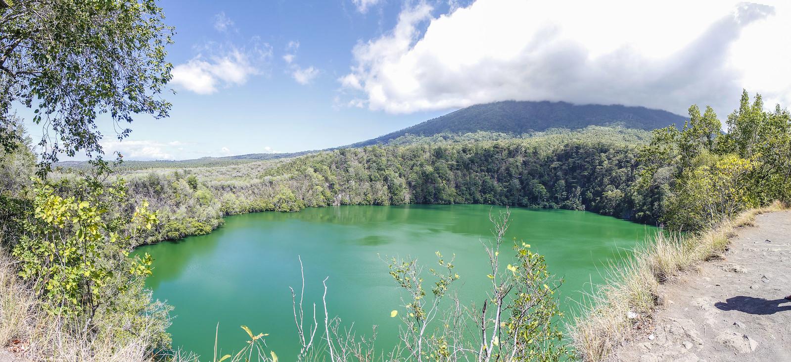 Danau Tolire, en Ternate