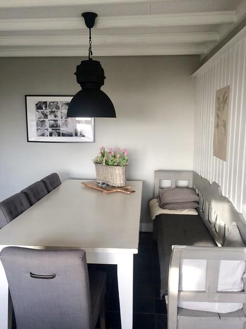 Klepbank keuken landelijke stijl