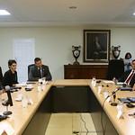 CANCILLER MARTÍNEZ Y MINISTRO DE SEGURIDAD SE REÚNEN CON SUBSECRETARIO ADJUNTO DE DHS