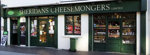 Cheesemongers shop in Galway, Ireland