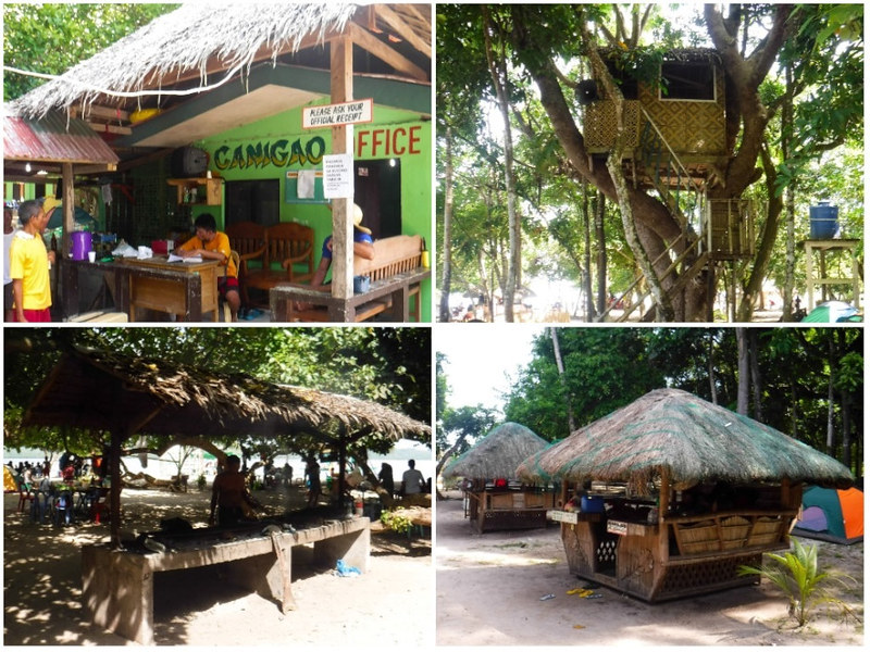Facilities in Canigao Island