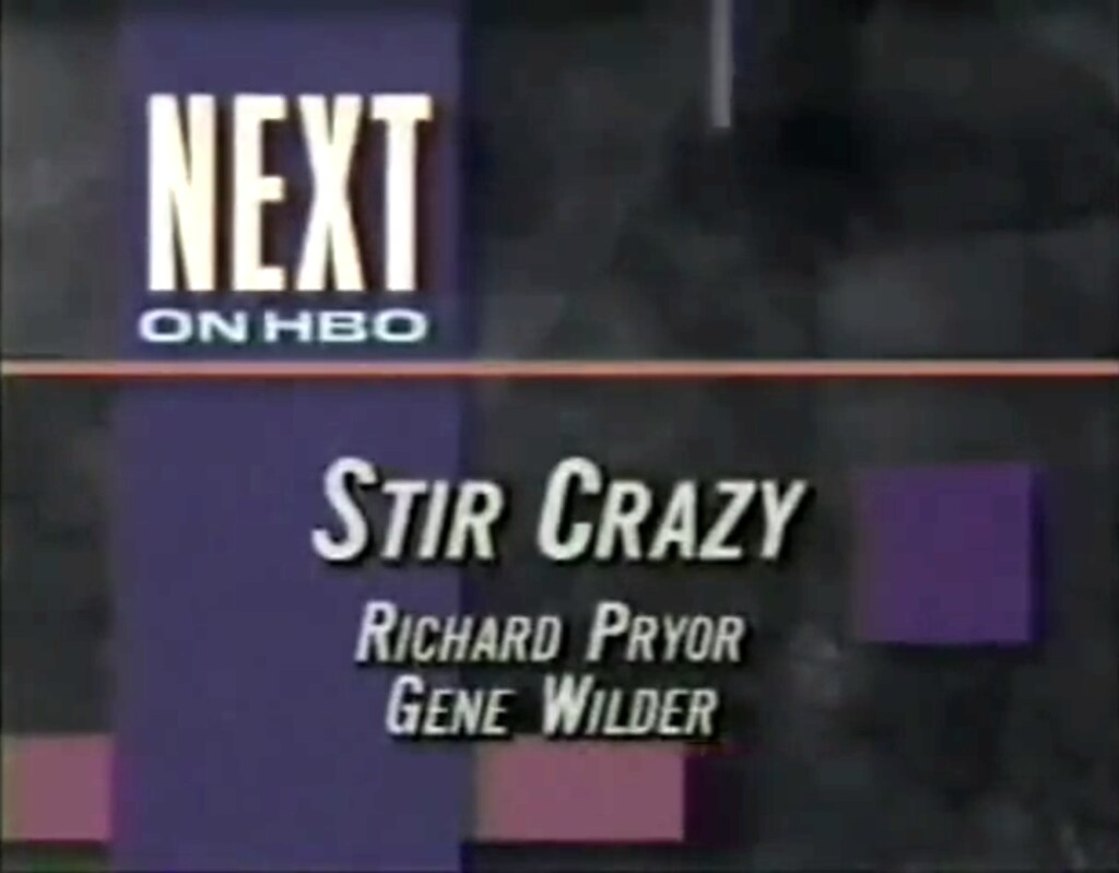 Next On HBO 1990