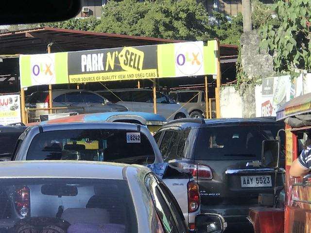 heavy traffic,  Pasig