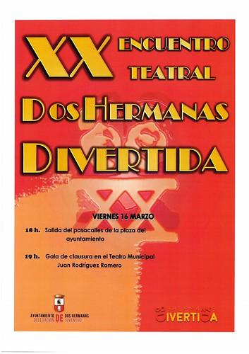Clausura del XX Encuentro Teatral Dos Hermanas Divertida