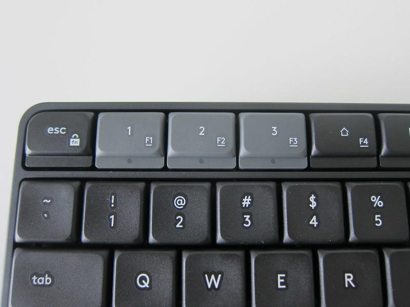 Logitech K375s Multi-Device Wireless Keyboard - Device Selection Keys
