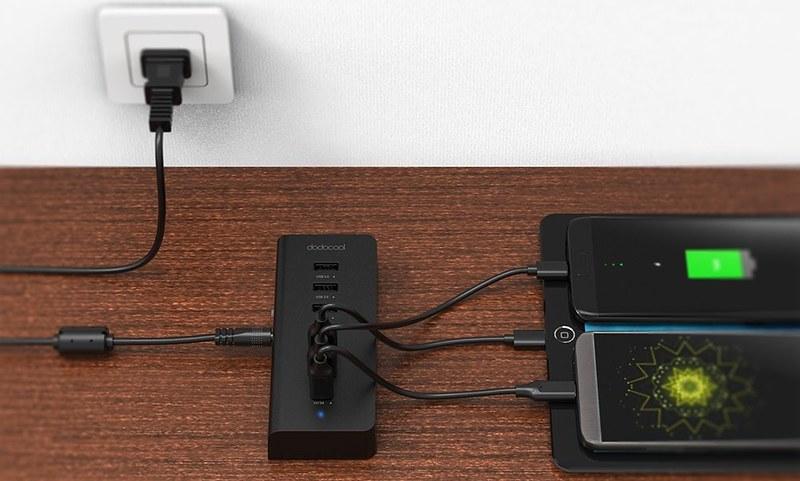 dodocool 7ポート USBハブ 写真 (7)