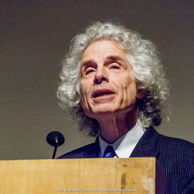 Steven Pinker at Logan Hall, 2018-02-22 - Enlightenment Now
