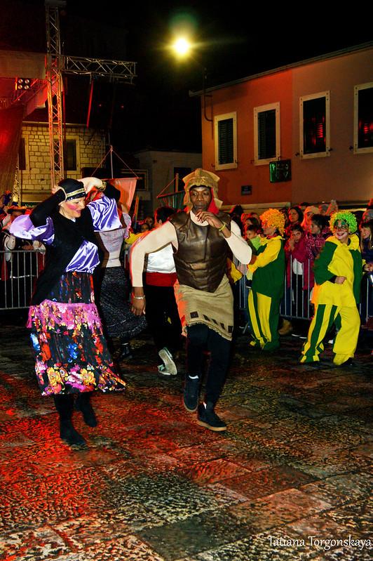 """""""Bayamo salsa"""" на Закрытии 49 Праздника мимозы"""