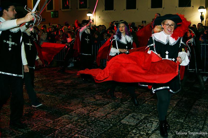 Выступление карнавальной группы из Панчево