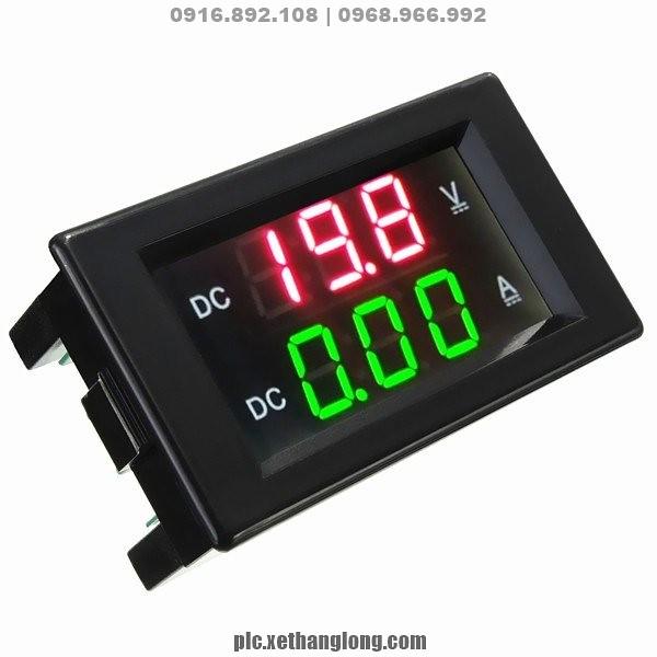 Mặt hiển thị điện tử - Hiển thị giá trị đo Volt và ampe