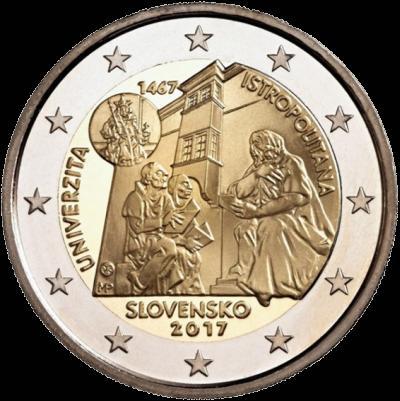 2 Euro Slovensko 2017, Academia Istropolitana