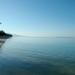 Matin calme sur le lagon de La Saline
