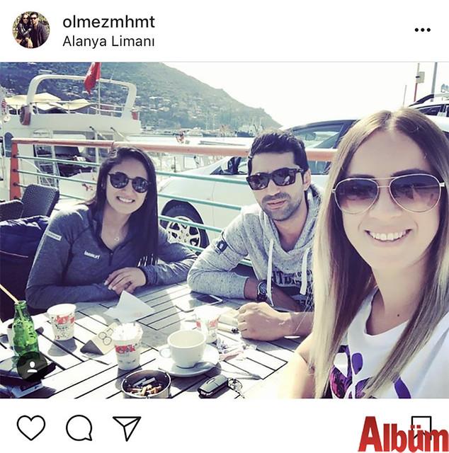 Eda Ölmez ve Mehmet Ölmez çifti, güzel havayı fırsat bilerek hafta sonunu İskele'nin eşsiz manzarasında değerlendirdi.