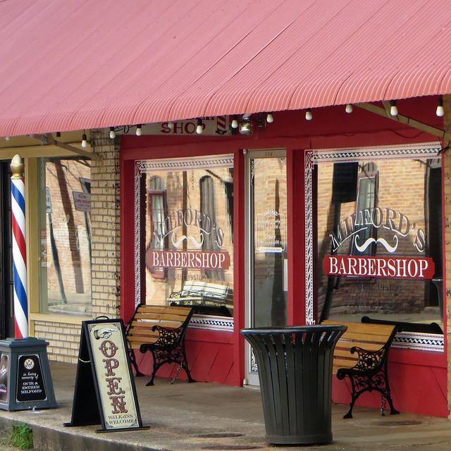 Barbershop in Nacogdoches, Texas