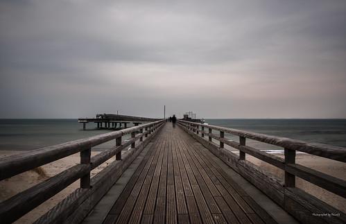 Heiligenhafen - Auf der Seebrücke