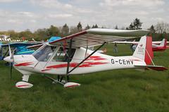 G-CEHV Ikarus Comco C-42 [0610-6854] Popham 020509